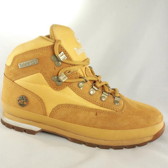 b80a048a1ec New TIMBERLAND Wheat Nubuck Euro Hiker Boots